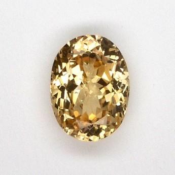 Saphir jaune 1,72 ct