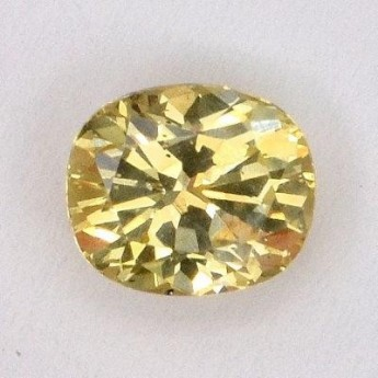 Saphir jaune 0,79 ct
