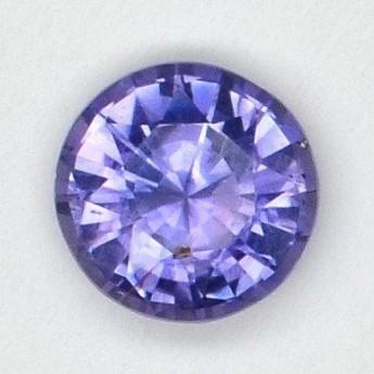 Saphir violet 0.82 ct