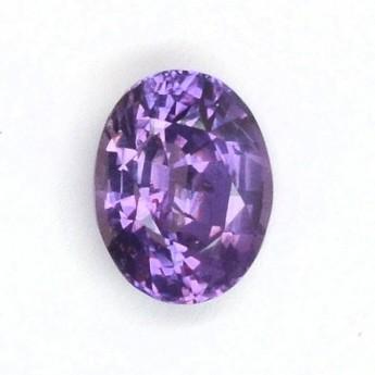 Saphir violet 1,53 ct
