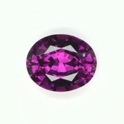 Grenat violet 2,17 cts