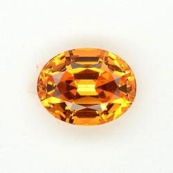 Grenat mandarin 2,92 ct