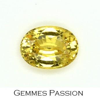 Saphir jaune 1,48 ct