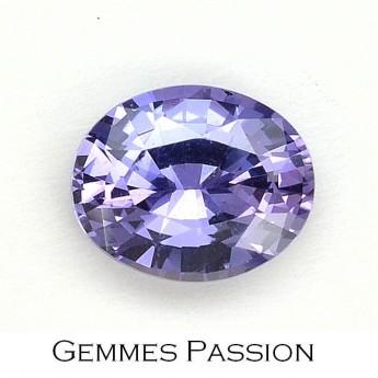 Saphir violet 1,32 ct