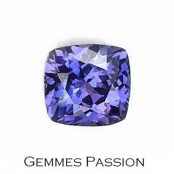 Saphir violet 0,63 ct