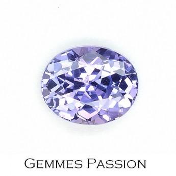 Saphir violet 1,35 ct