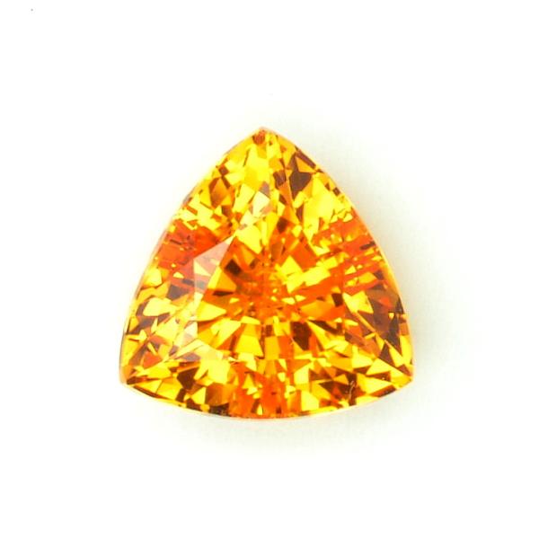 Grenat mandarin 2,11 carats