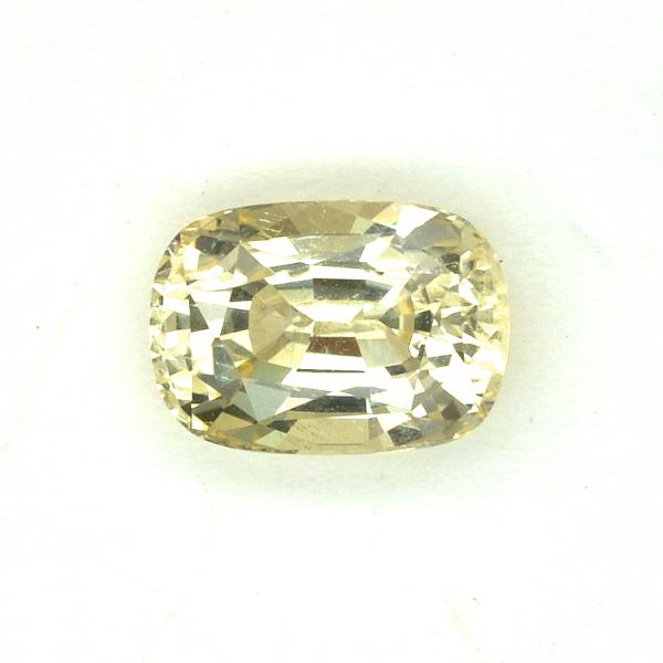 Saphir jaune 2,10 carats
