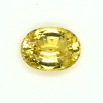 Saphir jaune naturel du Sri Lanka 1_48ct